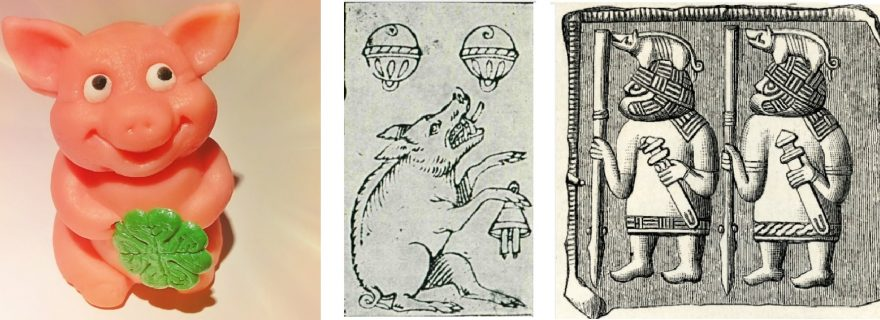 Lucky pigs and protective boars: The medieval origins of the Glücksschwein