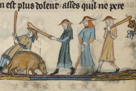 Play piggy games, win piggy prizes: Swine entertainment in medieval Europe