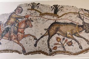 Vandal hunting mosaic 5th century edited